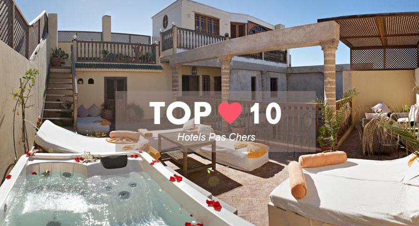 Top meilleur hotel pas cher Essaouira