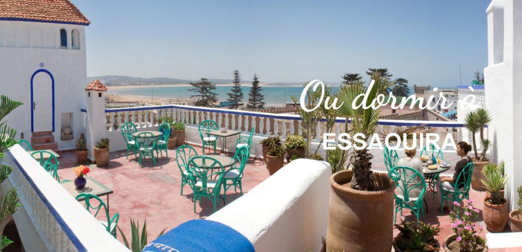 hebergement ou dormir Essaouira