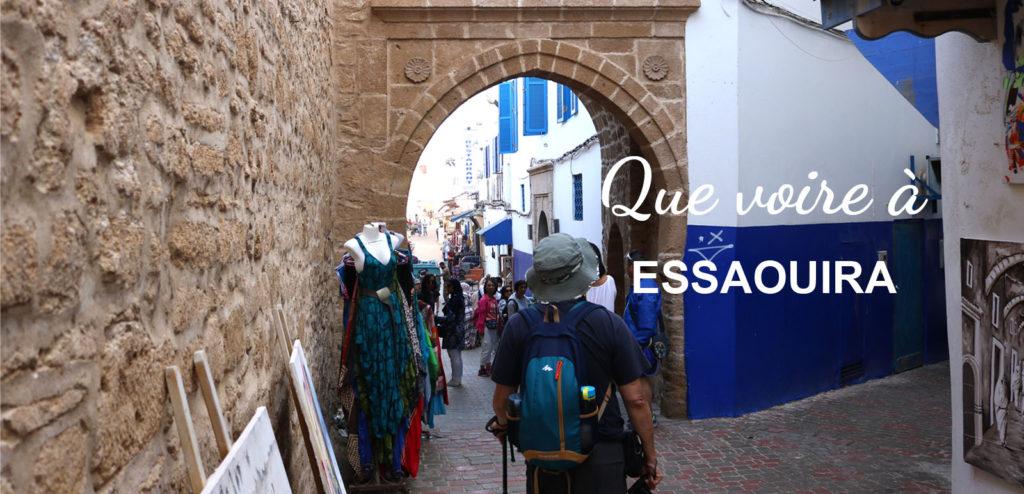 que voir porte Essaouira Maroc