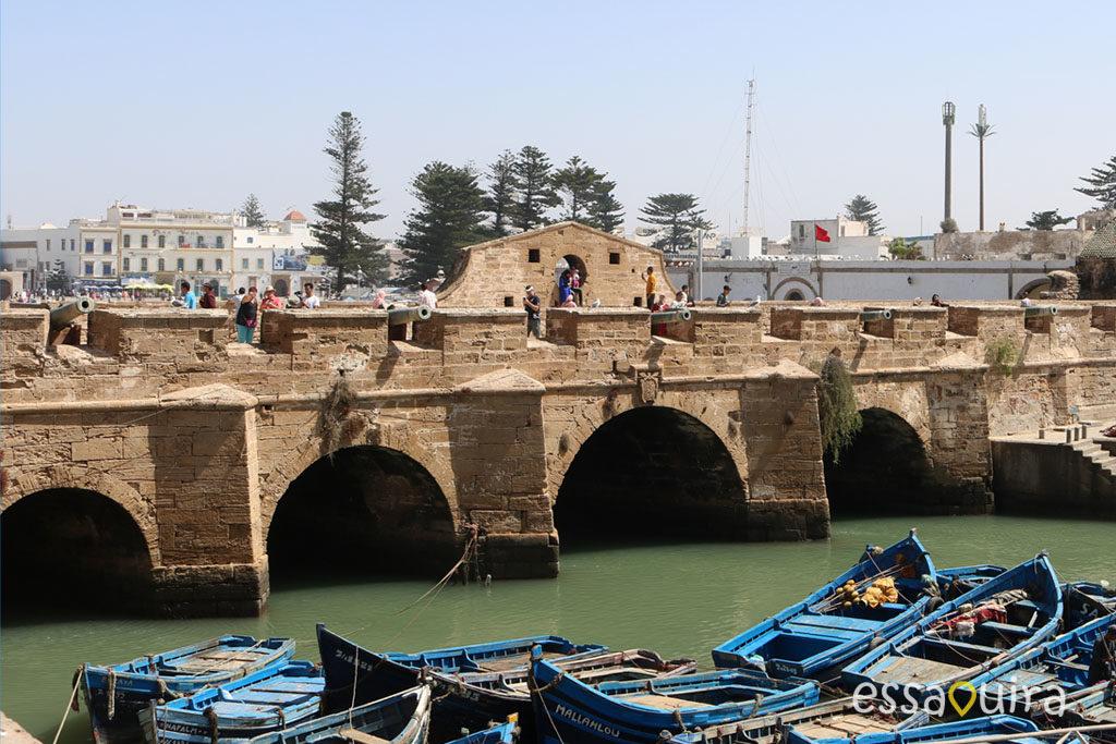 Photo port ville Essaouira Maroc