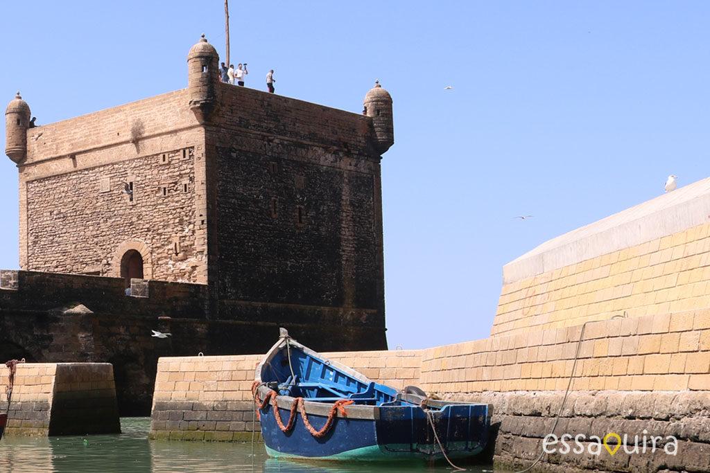 Photo sqala port Essaouira