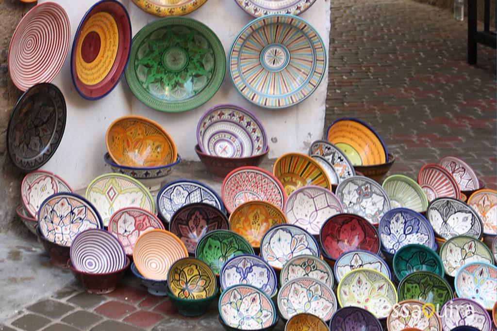 Souk Essaouira poterie marocaine