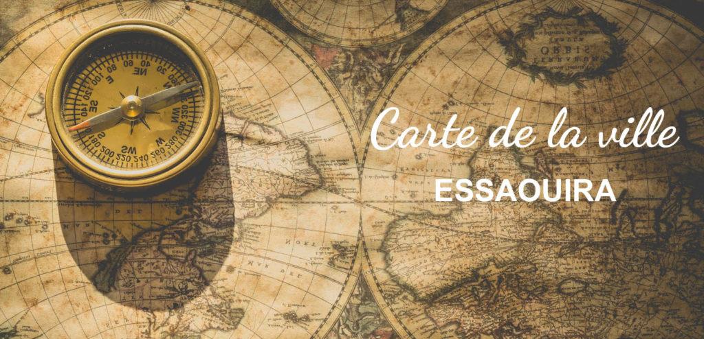 Carte ville Essaouira