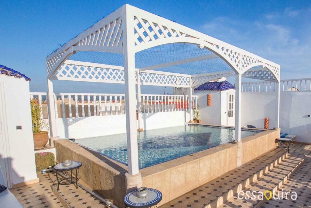 Riad avec piscine sur le toit Essaouira