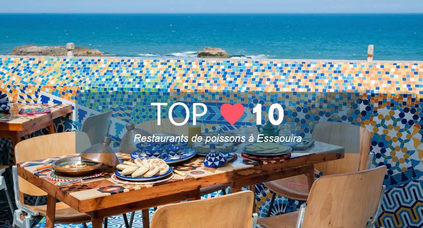 Top meilleur restaurant poisson Essaouira