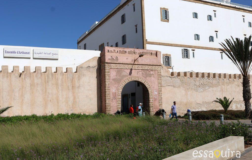 Histoire remparts Essaouira Maroc