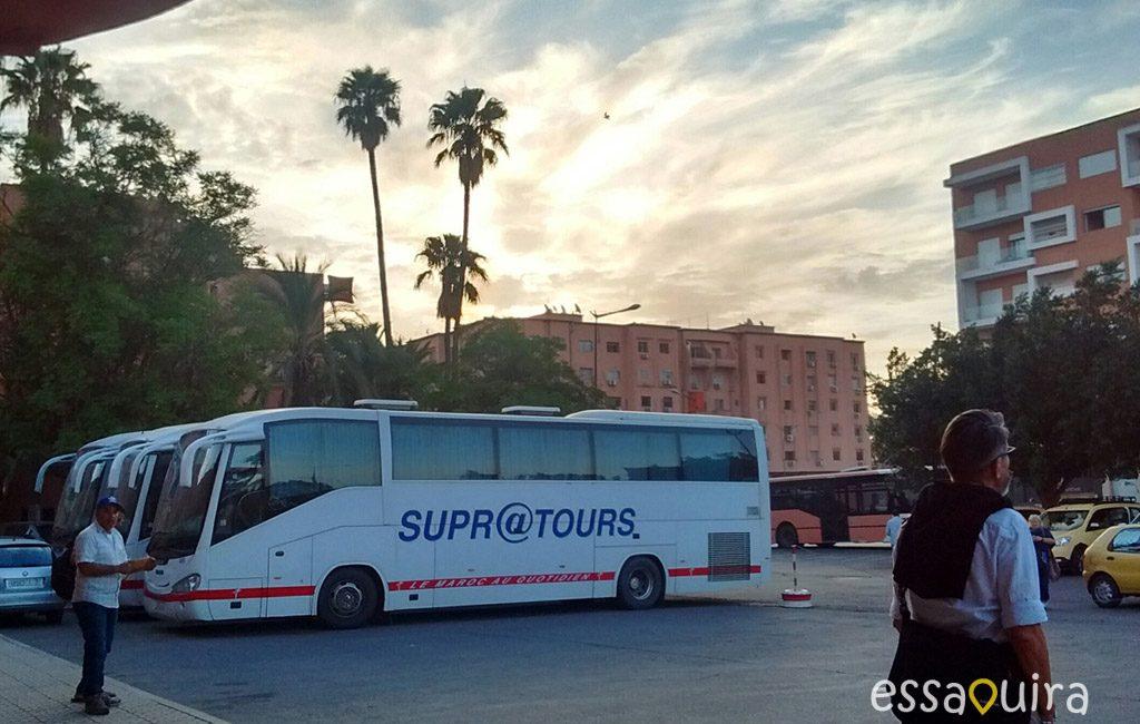 Bus supratour Essaouira Marrakech